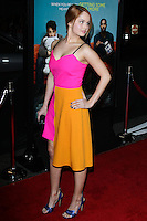 """LOS ANGELES, CA - JANUARY 27: Debby Ryan at the Los Angeles Premiere Of Focus Features' """"That Awkward Moment"""" held at Regal Cinemas L.A. Live on January 27, 2014 in Los Angeles, California. (Photo by David Acosta/Celebrity Monitor)"""