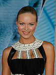 """HOLLYWOOD, CA. - September 24: Anya Monzikova arrives at the Los Angeles premiere of """"Surrogates"""" at the El Capitan Theatre on September 24, 2009 in Hollywood, California."""
