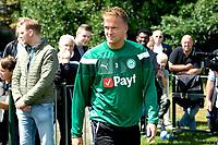 HAREN - Voetbal, Eerste Training FC Groningen  sportpark de Koepel, 01-07-2017,  FC Groningen speler Kasper Larsen