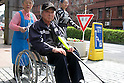 Apr 6, 2010 - Tokyo, Japan - Japanese Alzheimer's disease patients are entering The University of Tokyo Hospital on April 6, 2010. Recent investigations in the rural areas revealed that Alzheimer's disease in Japan occurred in about 3.5% of individuals aged 65 or more. An estimated 1 million Japanese have Alzheimer's disease today, according to the World Health Organization.