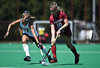 Stanford, Ca - August 30, 2019: The Stanford Cardinal vs Northwestern Wildcats field hockey game at Varsity Turf in Stanford, California. Final score, Stanford 3, Northwestern 4.