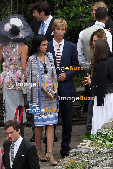 Arrival of the guests marriages of Pierre Casiraghi and B&eacute;atrice Borromeo<br /> <br /> Christian de Hanovre