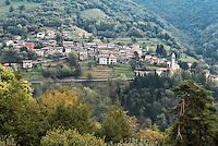Switzerland, Ticino, Valle di Muggio, mountain village Bruzella | Schweiz, Tessin, Valle di Muggio, Bergdorf Bruzella
