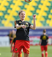20190227 - LARNACA , CYPRUS :  Belgian Yana Daniels pictured during a women's soccer game between the Belgian Red Flames and Slovakia , on Wednesday 27 February 2019 at the AEK Arena in Larnaca , Cyprus . This is the first game in group C for Belgium during the Cyprus Womens Cup 2019 , a prestigious women soccer tournament as a preparation on the Uefa Women's Euro 2021 qualification duels. PHOTO SPORTPIX.BE | DAVID CATRY
