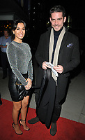 Fiona Wade and Simon Cotton at the &quot;Big Fish the Musical&quot; gala performance, The Other Palace, Palace Street, London, England, UK, on Wednesday 08 November 2017.<br /> CAP/CAN<br /> &copy;CAN/Capital Pictures