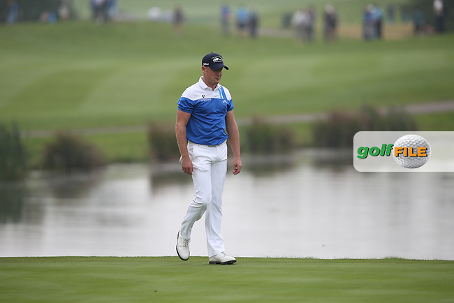 Jamie Donaldson (WAL) during Round Three of the ISPS Handa Wales Open 2014 from the Celtic Manor Resort, Newport, South Wales. Picture:  David Lloyd / www.golffile.ie