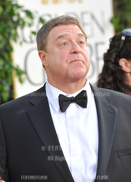 John Goodman at the 70th Golden Globe Awards at the Beverly Hilton Hotel..January 13, 2013  Beverly Hills, CA.Picture: Paul Smith / Featureflash