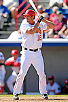 6 March 2007: Washington Nationals infielder Travis Lee in Grapefruit League action against the Atlanta Braves at Space Coast Stadium in Viera, Florida.<br /> <br /> Mandatory Photo Credit: Ed Wolfstein Photo
