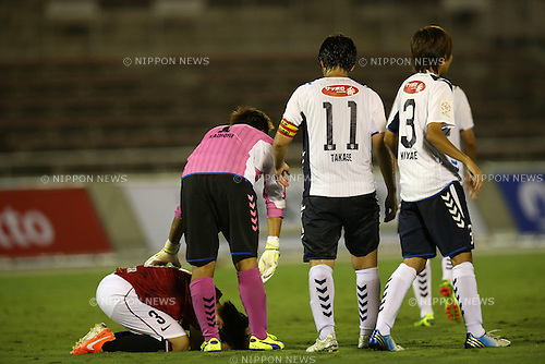 Shiho Kohata (Reds Ladies), <br /> AUGUST 17,2014 - Football / Soccer : 2014 Nadeshiko League, between Urawa Reds Ladies 0-1 INAC KOBE LEONESSA at Urawakomaba Stadium, Saitama, Japan. (Photo by Jun Tsukida/AFLO SPORT)