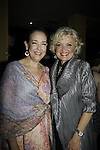 """Harriet Harris & Christine Ebersole """"Baroness . . ."""" - Ryan's Hope & One Life To Live - Paper Mill Playhouse presents the world premiere of the the new musical Ever After on May 31, 2015 with curtain call followed by gala at Charlie Bowns in Millburn, New Jersey (Photos by Sue Coflin/Max Photos)"""