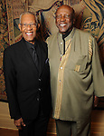 The Rev. Bill Lawson and Louis Gossett Jr. at a dessert reception for Gossett Jr. and the Anti-Defamation League at Chateau Carnarvon Tuesday Nov. 11, 2014.(Dave Rossman photo)