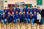 Tralee Rugby U18's, under the guidance of Alan Boyle (back 2nd Rt ) were presented with their medals by Ultan Dillane, a former Tralee player and now with Connacht and Ireland, last Friday night at the clubhouse at O'Dowd Pk, Tralee for taking 2nd place in the very competitive Munster U18 league.