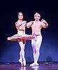 Les Ballets Trockadero de Monte Carlo <br /> at the Peacock Theatre, London, Great Britain <br /> press photocall <br /> 16th September 2015 <br /> <br /> <br /> Programme 1<br /> press night 16th September 2015 <br /> <br /> Paquita <br /> Chase Johnsey as Yakaterina Verbosovich<br /> <br /> Giovanni Goffredo as Sergey Legupski <br /> <br /> <br /> <br /> Photograph by Elliott Franks <br /> Image licensed to Elliott Franks Photography Services