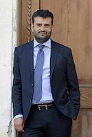 Roma, 3 Luglio 2014<br /> Convegno e assemblea dell'Anci<br /> L'associazione dei Comuni italiani per l'innovazione.<br /> Nella foto Antonio Decaro sindaco di Bari