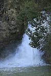 Israel, Upper Galilee, Ayoun waterfall in Nahal Ayoun Nature reserve