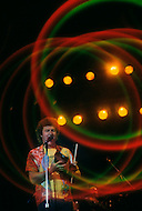 Montreal, Canada - June 30,1979. This photograph was taken of Robert Charlebois at his concert in Montreal Harbour. Robert Charlebois (born June 25, 1944) is a Quebec author, composer, musician, performer and actor. He is an important figure in French music and his best known songs include Lindberg and Je reviendrai à Montréal.