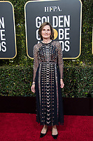 Golden Globe nominee Deborah Davis attends the 76th Annual Golden Globe Awards at the Beverly Hilton in Beverly Hills, CA on Sunday, January 6, 2019.<br /> *Editorial Use Only*<br /> CAP/PLF/HFPA<br /> Image supplied by Capital Pictures