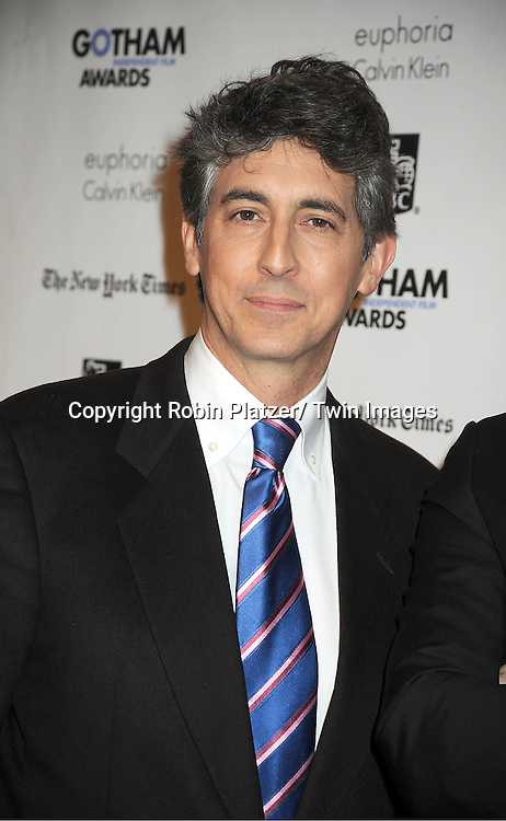 Alexander Payne attends IFP'S 21st Annual Gotham Independent Film Awards on November 28, 2011 at Cipriani Wall Street in New York City.
