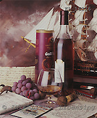 Interlitho, Alberto, STILL LIFES,  photos, bottle, sailing ship, KL16326,#I# Männer, masculino, hombres