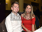 Dean McGrath and Gemma Sheridan at The Mattock Rangers awards night in the Grove House hotel Dunleer. Photo:Colin Bell/pressphotos.ie