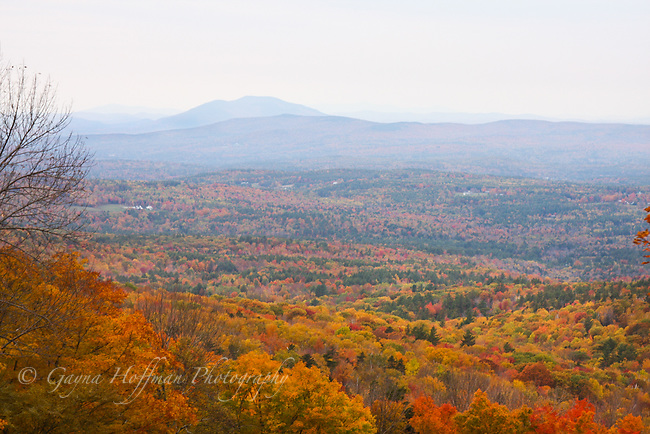 Fall in the mountains of New Hampshire.
