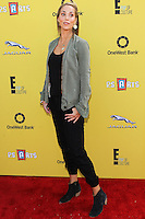 SANTA MONICA, CA, USA - NOVEMBER 16: Elizabeth Berkley arrives at the P.S. ARTS Express Yourself 2014 held at The Barker Hanger on November 16, 2014 in Santa Monica, California, United States. (Photo by Celebrity Monitor)