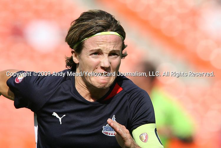 18 July 2009: Washington's Sonia Bompastor (FRA). The Washington Freedom defeated Saint Louis Athletica 1-0 at the RFK Stadium in Washington, DC in a regular season Women's Professional Soccer game.