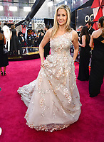 Mira Sorvino arrives at the Oscars on Sunday, March 4, 2018, at the Dolby Theatre in Los Angeles. (Photo by Charles Sykes/Invision/AP)