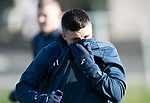 St Johnstone Training&hellip;27.10.17<br />Michael O&rsquo;Halloran pictured during training this morning at McDiarmid Park ahead of tomorrows trip to Partick Thistle<br />Picture by Graeme Hart.<br />Copyright Perthshire Picture Agency<br />Tel: 01738 623350  Mobile: 07990 594431