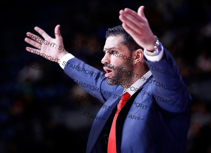 Kosarka ABA League season 2017-2018<br /> Crvena Zvezda v Mega Bemax<br /> head coach Dusan Alimpijevic<br /> Beograd, 04.09.2017<br /> foto: Srdjan Stevanovic/Starsportphoto &copy;
