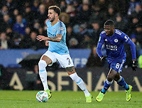 Leicester City 's Kelechi Iheanacho chasing down Manchester City 's Kyle Walker<br /> <br /> Photographer Andrew Kearns/CameraSport<br /> <br /> English League Cup - Carabao Cup Quarter Final - Leicester City v Manchester City - Tuesday 18th December 2018 - King Power Stadium - Leicester<br />  <br /> World Copyright &copy; 2018 CameraSport. All rights reserved. 43 Linden Ave. Countesthorpe. Leicester. England. LE8 5PG - Tel: +44 (0) 116 277 4147 - admin@camerasport.com - www.camerasport.com