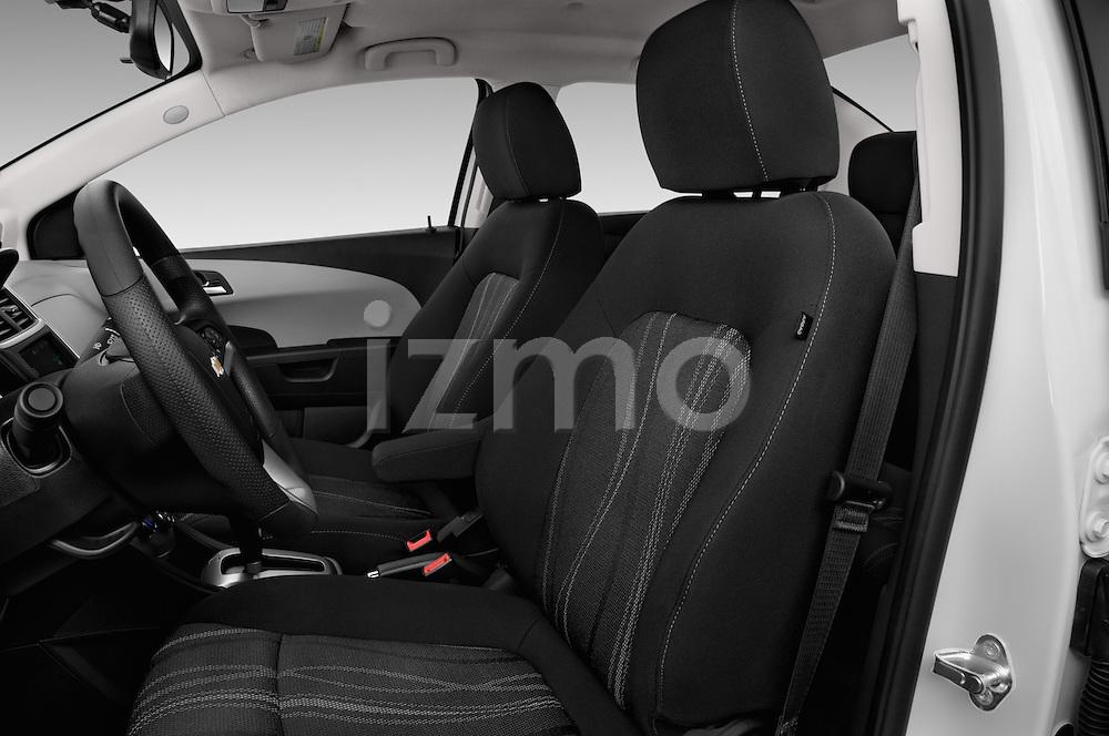 Front seat view of 2017 Chevrolet Sonic LT 4 Door Sedan Front Seat  car photos