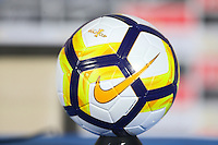 Santa Clara, CA - Tuesday, March 07, 2017: Gold Cup Ball during the unveiling of the CONCACAF 2017 Gold Cup Groups & Schedule at Levi's Stadium.