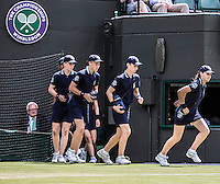 AMBIENCE<br /> The Championships Wimbledon 2014 - The All England Lawn Tennis Club -  London - UK -  ATP - ITF - WTA-2014  - Grand Slam - Great Britain -  2nd July  2014. <br /> <br /> &copy; AMN IMAGES