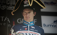 race winner Dimitri Claeys (BEL/Wanty-Groupe Gobert) on the podium<br /> <br /> 50th GP Jef Scherens 2016