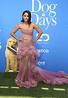 5 August 2018-  Century City, California - Vanessa Hudgens. Premiere Of LD Entertainment's &quot;Dog Days&quot; held at Westfield Century City. <br /> CAP/ADM/FS<br /> &copy;FS/ADM/Capital Pictures