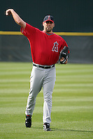 Jordan Walden  - Los Angeles Angels 2009 spring training.Photo by:  Bill Mitchell/Four Seam Images