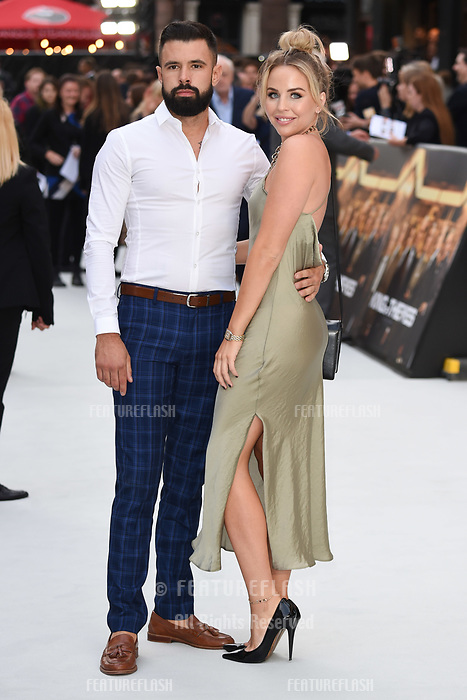 LONDON, UK. September 12, 2018: Lydia Bright at the World Premiere of &quot;King of Thieves&quot; at the Vue Cinema, Leicester Square, London.<br /> Picture: Steve Vas/Featureflash