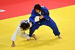 Momo Tamaoki (JPN), <br /> SEPTEMBER 1, 2018 - Judo : Mix Team Quarter-final at Jakarta Convention Center Plenary Hall during the 2018 Jakarta Palembang Asian Games in Jakarta, Indonesia. <br /> (Photo by MATSUO.K/AFLO SPORT)