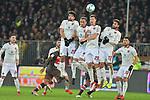 12.02.2018,  Millerntor-Stadion, Hamburg, GER, 2. FBL, 1.FC St.Pauli vs 1. FC Nuernberg im Bild die Nuernberger Mauer Foto © nordphoto / Witke *** Local Caption ***