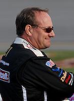 May 4, 2007; Richmond, VA, USA; Nascar Nextel Cup Series driver Ken Schrader (21) during qualifying for the Jim Stewart 400 at Richmond International Raceway. Mandatory Credit: Mark J. Rebilas