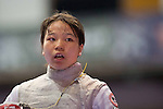 Minami Kano (JPN),<br /> AUGUST 10, 2013 - Fencing :<br /> World Fencing Championships Budapest 2013, Women's Team Foil Round of 16 at Syma Hall in Budapest, Hungary. (Photo by Enrico Calderoni/AFLO SPORT) [0391]