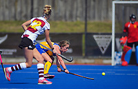 Action from the 2019 Men's National Hockey League match between Ricoh Capital Cobras and Tasmania at Blake Park in Mount Maunganui, New Zealand on Saturday, 14 September 2019. Photo: Dave Lintott / lintottphoto.co.nz