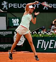 DANIELLE COLLINS (USA)<br /> <br /> TENNIS - FRENCH OPEN - ROLAND GARROS - ATP - WTA - ITF - GRAND SLAM - CHAMPIONSHIPS - PARIS - FRANCE - 2018  <br /> <br /> <br /> <br /> &copy; TENNIS PHOTO NETWORK