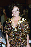 Liz Taylor 1981<br /> Photo By John Barrett-PHOTOlink.net