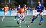 UTRECHT - Tim Swaen (Bldaal)    tijdens de hockey hoofdklasse competitiewedstrijd heren:  Kampong-Bloemendaal (3-3).    COPYRIGHT KOEN SUYK