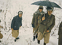 Iraq 1980 <br />  In Nawzeng, peshmerga in the snow  <br /> Irak 1980  <br /> Peshmergas dans la neige a Nawzang
