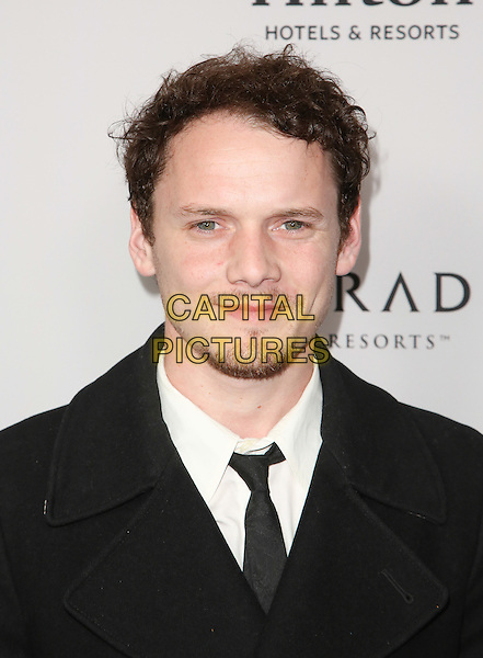 BEVERLY HILLS, CA - MARCH 17: Anton Yelchin at the 2014 Tribeca Film Festival LA Reception at the Beverly Hilton in Beverly Hills, California on March 17, 2014. <br /> CAP/MPI/mpi99<br /> &copy;mpi99/MediaPunch/Capital Pictures