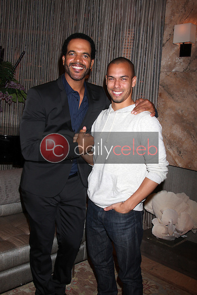 Kristoff St John, Bryton James<br />
