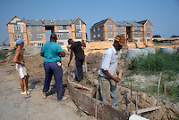1989 July..Assisted Housing..Mission College. Construction Progress Photos..CAPTION...NEG#.NRHA#..